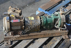 1 x 1.5 inch chemical process stainless pump 1.1kW