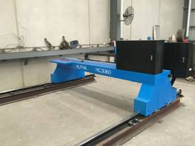 CNC Oxy Cutter - Plasma Option - Gantry axis - picture3' - Click to enlarge