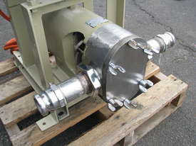 Stainless Lobe Pump - 7.5kW - picture3' - Click to enlarge