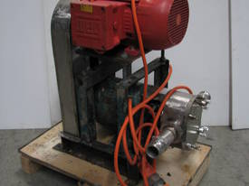 Stainless Lobe Pump - 7.5kW - picture0' - Click to enlarge