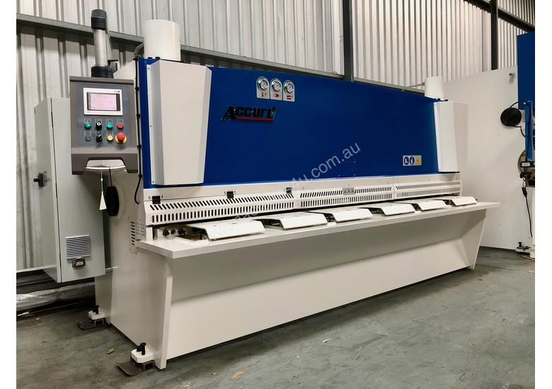 ACCURL Genius MS8-8�3200 CNC Guillotine Shear