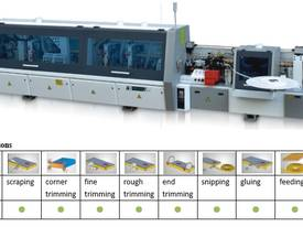 NANXING Pre- Milling & Corner Rounding 3 speed Touch screen  high quality Automatic EdgeBander NB7CJ - picture0' - Click to enlarge