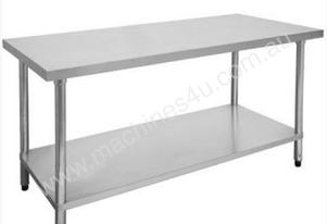 F.E.D. 1500-6-WB Economic 304 Grade Stainless Steel Table 1500x600x900