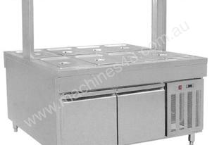 F.E.D. BS8C Refrigerated Buffet Bain Marie Centre Servery