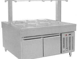 F.E.D. BS8C Refrigerated Buffet Bain Marie Centre Servery - picture1' - Click to enlarge