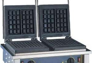 Roller Grill GED 10 Waffle Machine - Double 3 x 5 sq