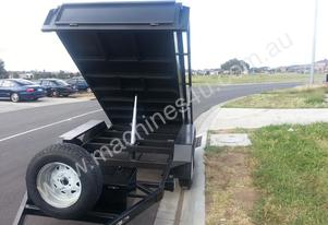 Lawan Moving Tipper Trailers 2 Ton GVM with Electr