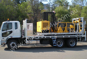 10kN/25kN 3-Drum Skid-Mounted Dual Purpose Recover
