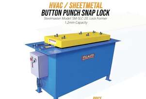 HVAC Button Punch Snap Lock Machine HVAC Machinery for sale delivery Australia wide -