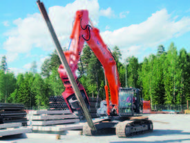 MOVAX SG-45V EXCAVATOR MOUNT PILE DRIVER (20-24T) - picture6' - Click to enlarge