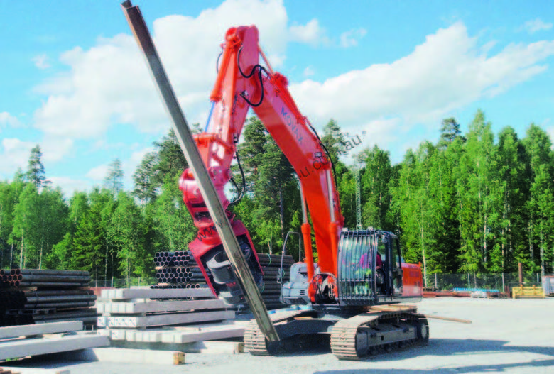 MOVAX SG-45V EXCAVATOR MOUNT PILE DRIVER (20-24T)