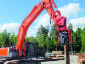 MOVAX SG-45V EXCAVATOR MOUNT PILE DRIVER (20-24T) - picture7' - Click to enlarge