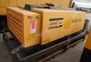 ATLAS COPCO 300CFM AIR COMPRESSOR C /W AFTERCOOLER