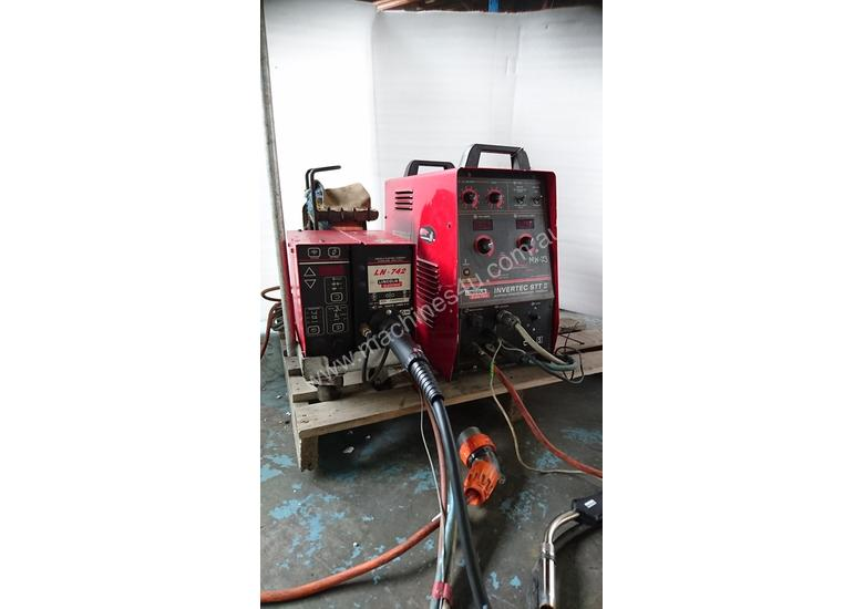 Used Lincoln STT 2 Three Phase Mig Welders in PRESTON, VIC Price: $4,900