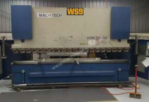 Press Brake Machtech 200T 4100mm CNC Delem Control