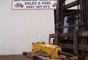 INDECO UP301 Hyd Hammer Attachments