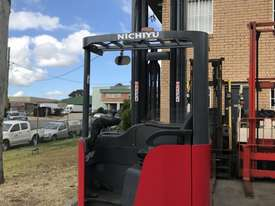 Nichiyu Electric Reach Forklift - New Paint, 8.0 Metre Lift, Serviced, Battery with Warranty - picture3' - Click to enlarge
