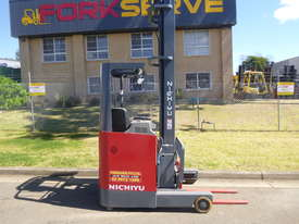 Nichiyu Electric Reach Forklift - New Paint, 8.0 Metre Lift, Serviced, Battery with Warranty - picture0' - Click to enlarge