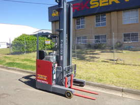 Nichiyu Electric Reach Forklift - New Paint, 8.0 Metre Lift, Serviced, Battery with Warranty - picture1' - Click to enlarge