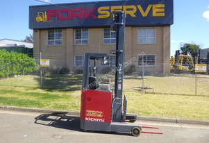 USED NICHIYU REACH TRUCK WITH OPTIONAL NEW BATTERY WITH 5 YEAR WARRANTY