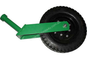 SLASHER WHEEL RUBBER MAT WITH HUB