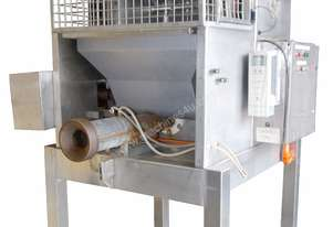Tilting Paddle Mixer (s/s) with Feed Hopper and Extruder