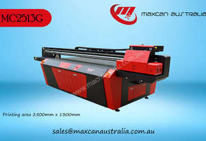 Maxcan Australia MC 2513G - 8H   UV Cured Flatbed Digital Printer
