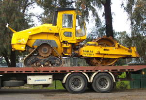 sakai cv550-t sd  , 2100hrs , NEW TRACKS ,