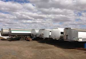 Marshall Lethlean 43000 litre water tankers