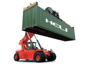 HELI LADEN CONTAINER HANDLER - REACH STACKER - picture0' - Click to enlarge