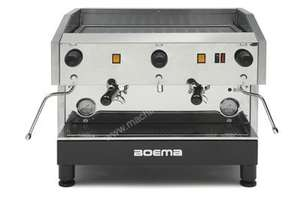 Boema Caffe CC-2S15A 2 Group Semi Automatic Espresso Machine