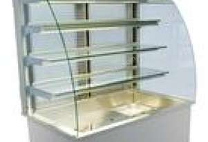 Mitchel Refrigeration 5 x 1/1 GN Refrigerated Display w/ Wooden Stand