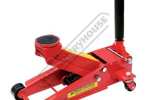 ARMM800QL Professional Hydraulic Trolley Jack - Steel 2000kg (2 Tonne) 130 ~ 470mm Lift Height