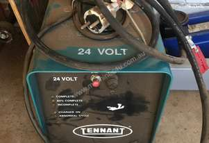 TENNANT ELECTRIC CHARGER 24 volts