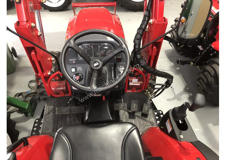 TYM Tractor with 4in1 Front end Loader - 35hp Hydrostatic