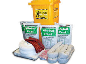 General Purpose Spill Kit. 87L absorbent capacity. Portable canvacon bag. Ideal for trucks & vans - picture1' - Click to enlarge