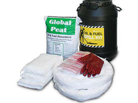 General Purpose Spill Kit. 87L absorbent capacity. Portable canvacon bag. Ideal for trucks & vans - picture2' - Click to enlarge