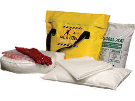 General Purpose Spill Kit. 87L absorbent capacity. Portable canvacon bag. Ideal for trucks & vans - picture3' - Click to enlarge