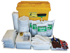 General Purpose Spill Kit. 87L absorbent capacity. Portable canvacon bag. Ideal for trucks & vans - picture6' - Click to enlarge
