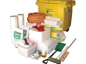 General Purpose Spill Kit. 87L absorbent capacity. Portable canvacon bag. Ideal for trucks & vans - picture7' - Click to enlarge