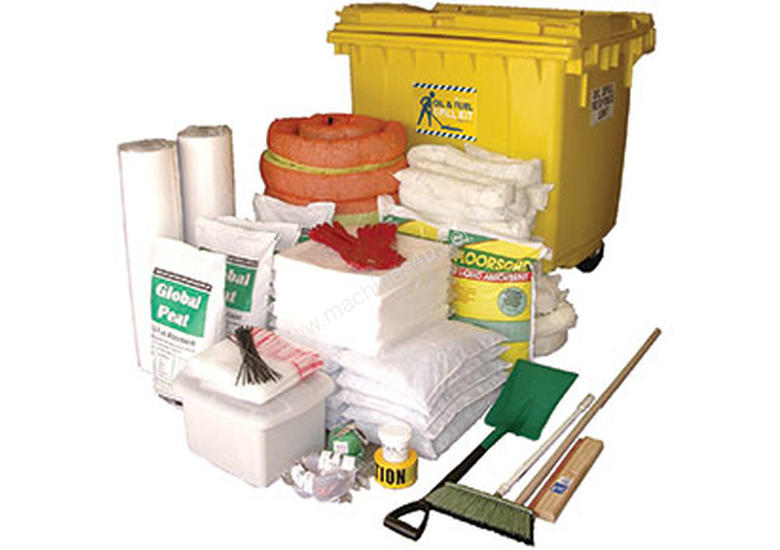 General Purpose Spill Kit. 87L absorbent capacity. Portable canvacon bag. Ideal for trucks & vans