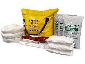 General Purpose Spill Kit. 87L absorbent capacity. Portable canvacon bag. Ideal for trucks & vans - picture8' - Click to enlarge