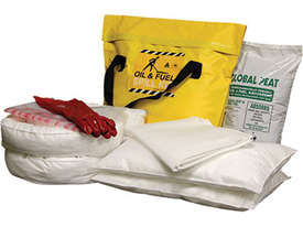 General Purpose Spill Kit. 87L absorbent capacity. Portable canvacon bag. Ideal for trucks & vans - picture9' - Click to enlarge