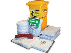 General Purpose Spill Kit. 87L absorbent capacity. Portable canvacon bag. Ideal for trucks & vans - picture11' - Click to enlarge