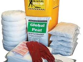 General Purpose Spill Kit. 87L absorbent capacity. Portable canvacon bag. Ideal for trucks & vans - picture12' - Click to enlarge