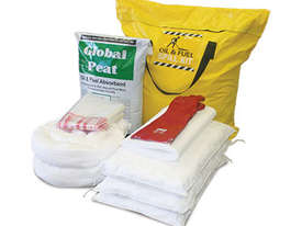 General Purpose Spill Kit. 87L absorbent capacity. Portable canvacon bag. Ideal for trucks & vans - picture13' - Click to enlarge