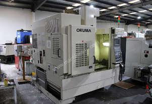 Okuma MX 45VAE vertical machining centre