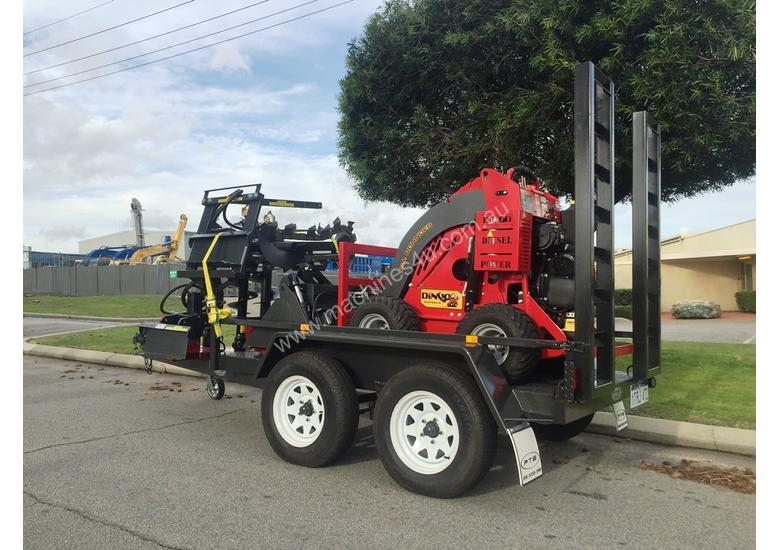 NEW DINGO AND MINI LOADER TRAILER PACKAGES