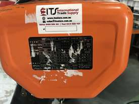 Hitachi Electric Chain Hoist 1 Ton x 6meters 3 Phase 415 Volt Electric Shop Crane - picture0' - Click to enlarge
