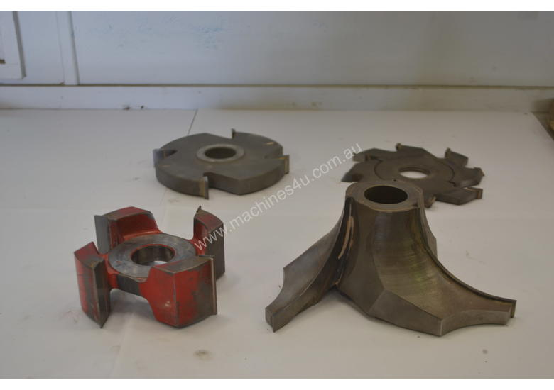 Various Spindle moulder tooling